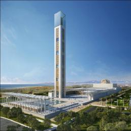 Brandschutzkonzept, Entrauchuingskonzept, Brand- und Evakuierungssimulation - Moschee Algier - Algerien