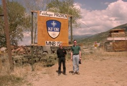 Bundeswehrstudie - Feldlager Prizren - Kosovo